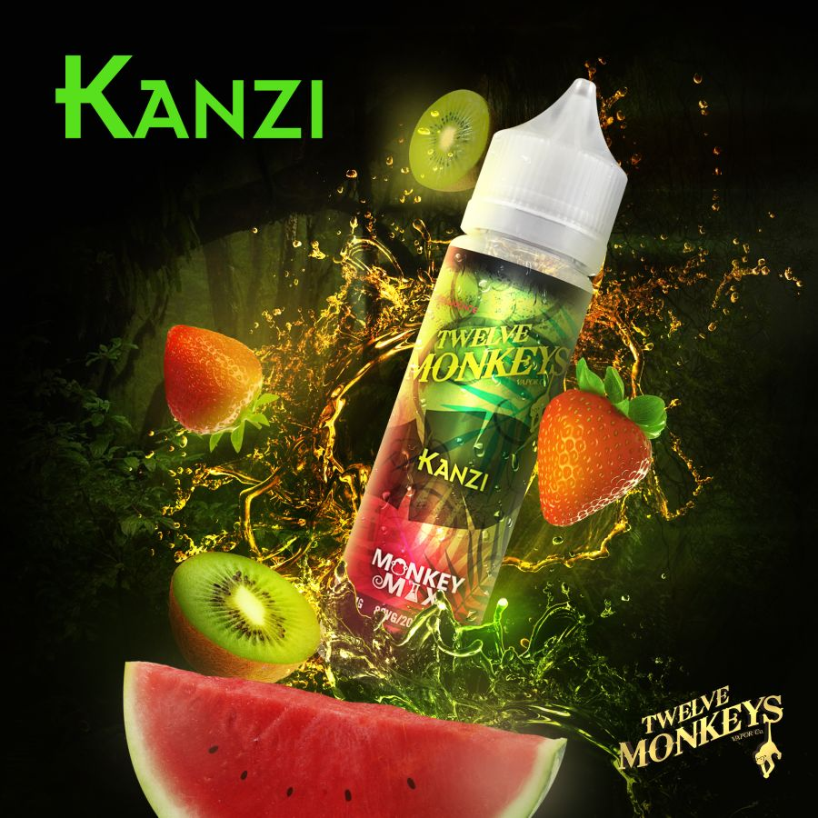 Kanzi By Twelve Monkeys 50ml 0mg
