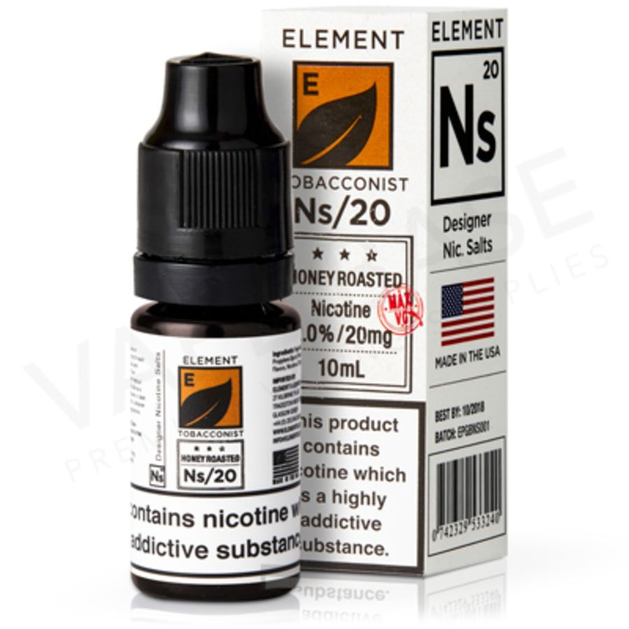 Honey Roasted Tobacco By Element Eliquid