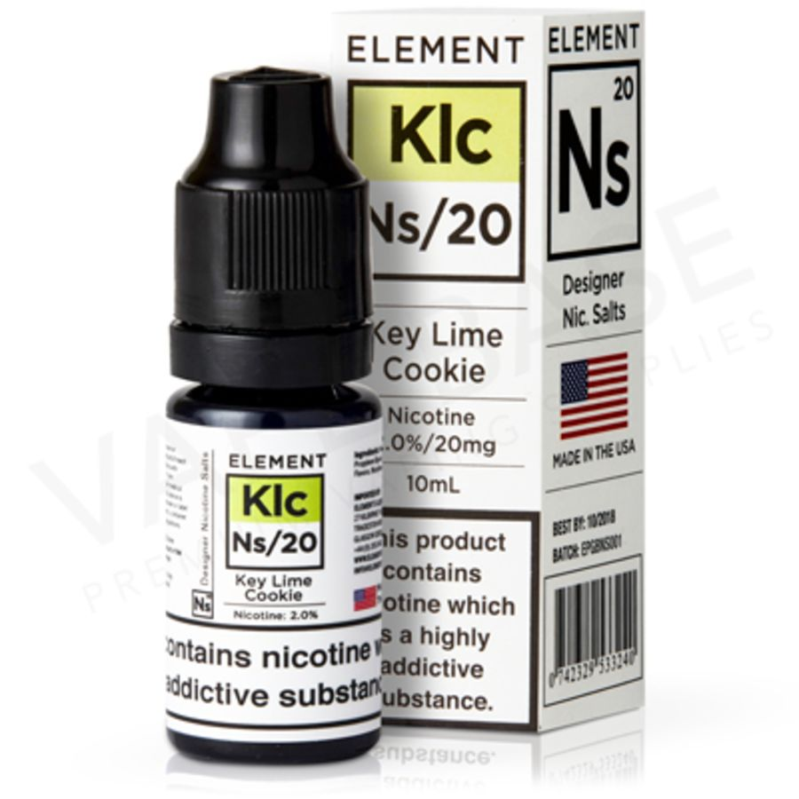 Key Lime Cookie Nic Salt By Element Eliquid