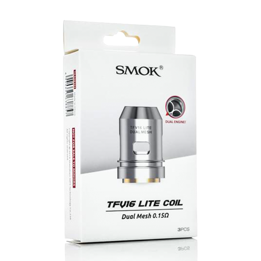 TFV16 Lite Replacement Coils By Smok 3 Pack