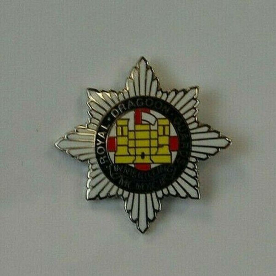 Enamel Lapel Badge Royal Dragoon Guards