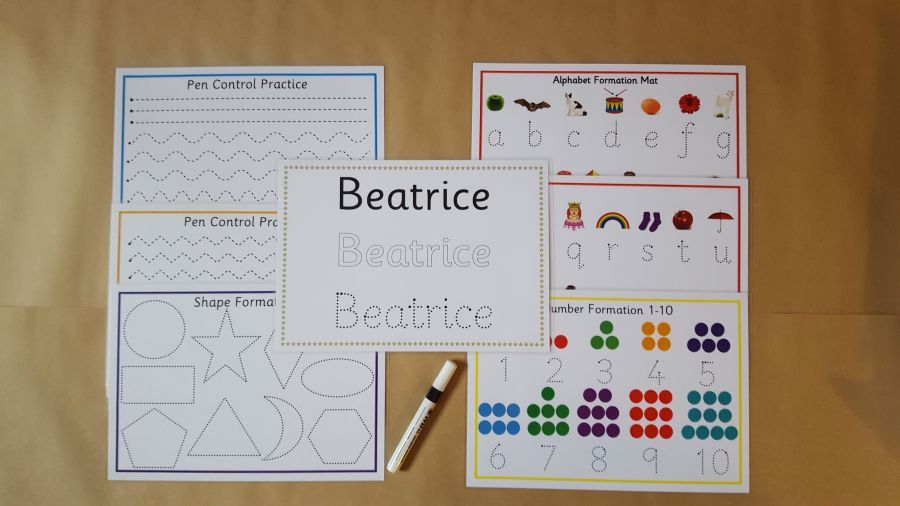 Early Learning, Pre school Tracing Bundle