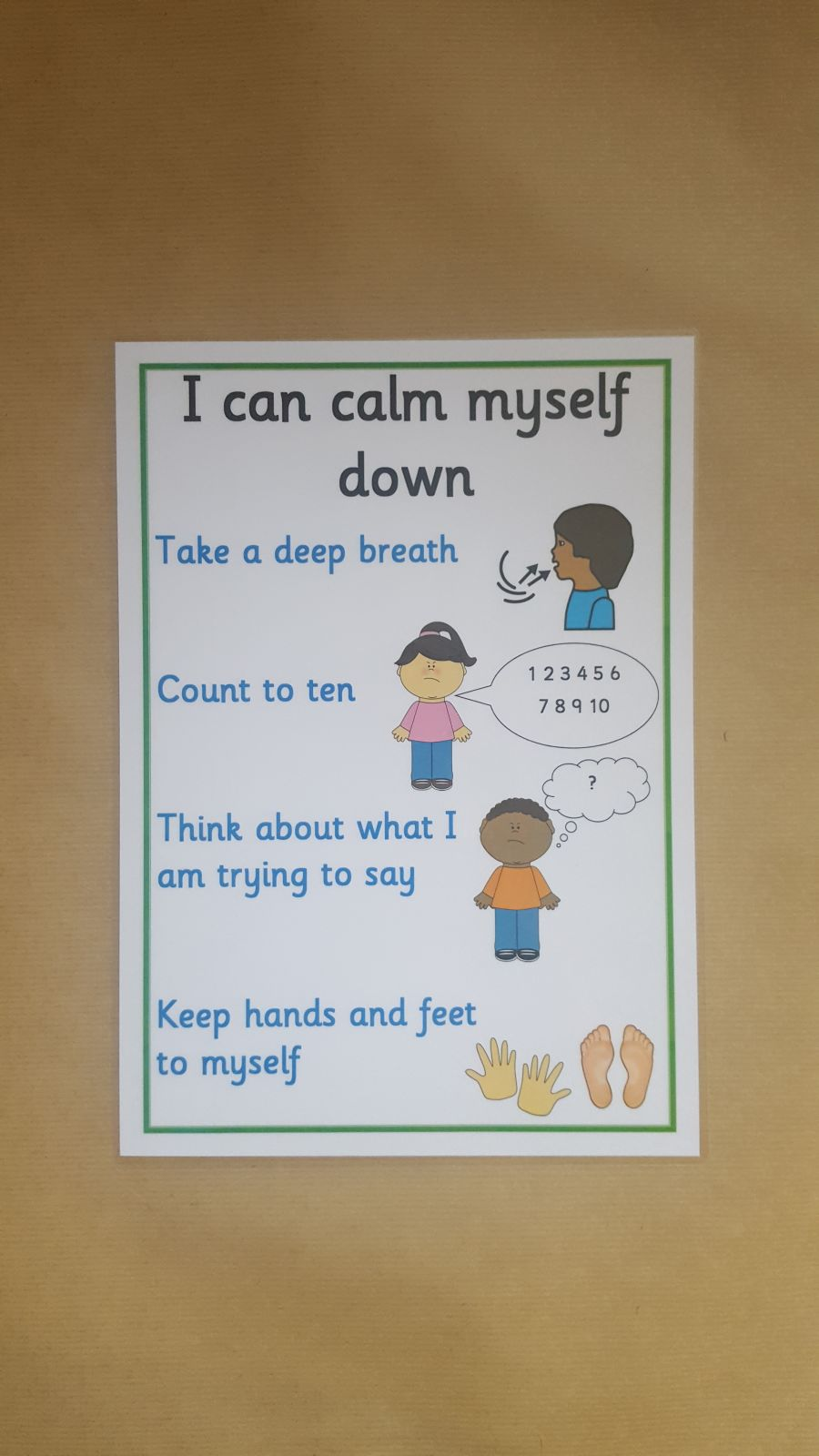 I can calm myself down - Poster