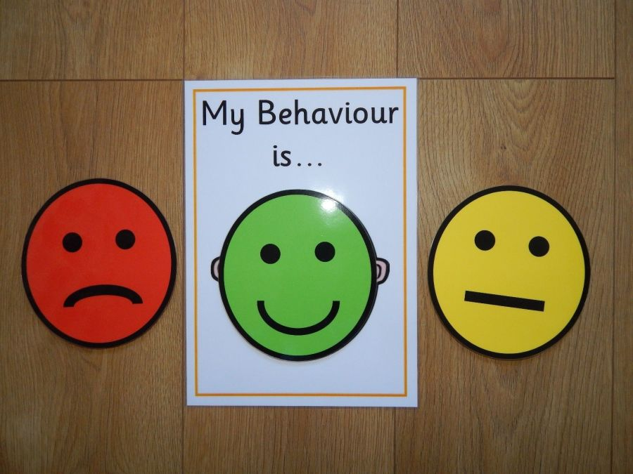 Children's Behaviour Chart - Traffic Lights