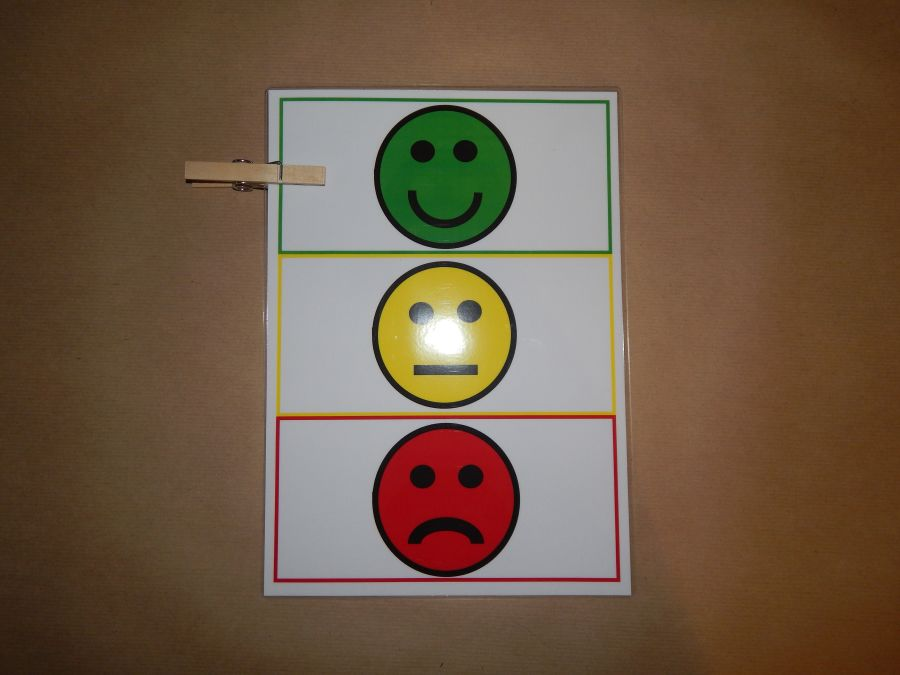 Children S Peg Behaviour Chart Traffic Lights