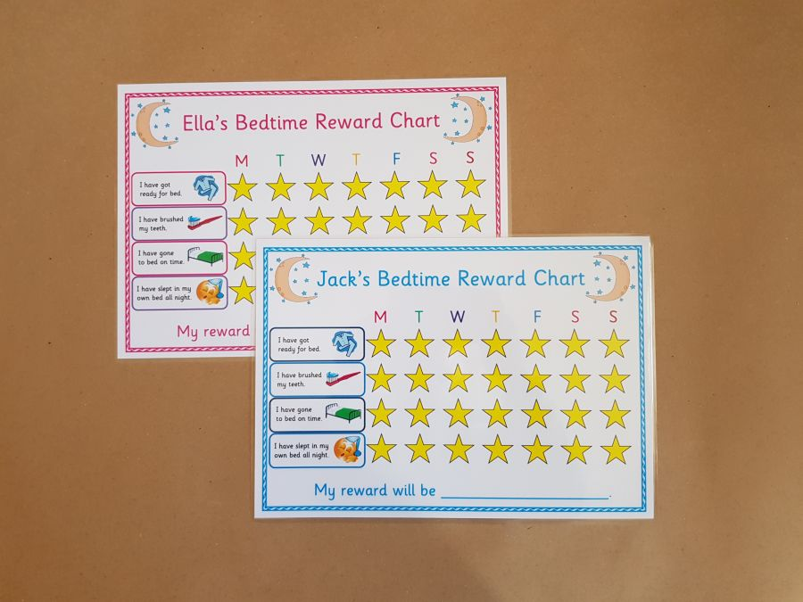 Bedtime Routine Reward Chart