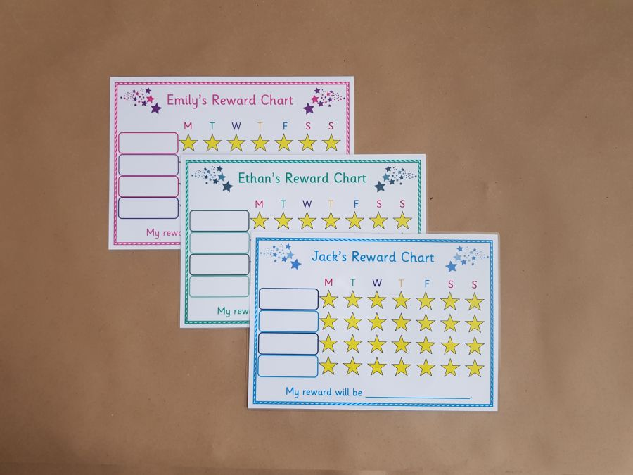 Reward Chart - Children's Personalised Reward Chart