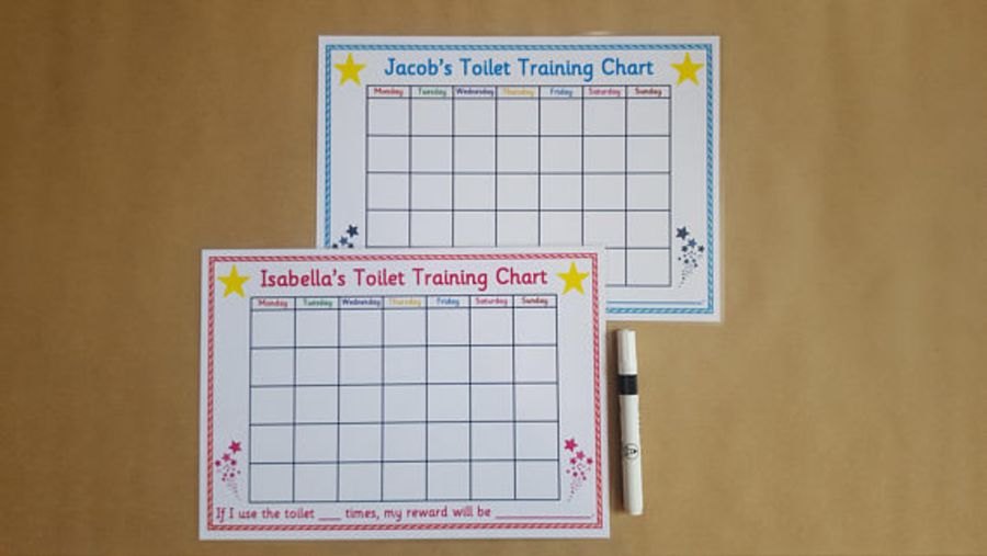 Toilet Training Reward Chart