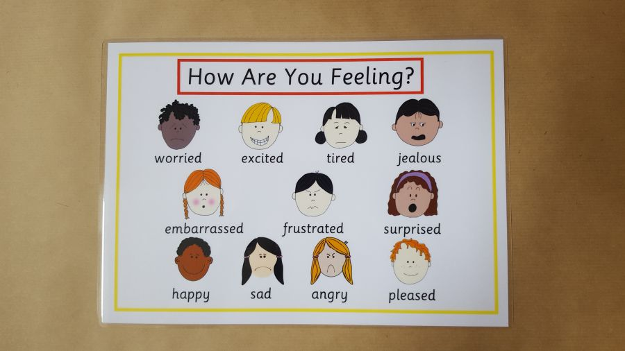 Emotions, Feelings Poster