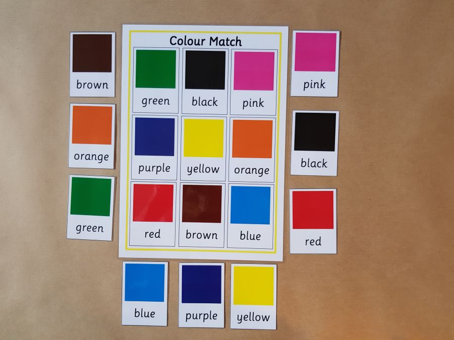 Colour Matching Game