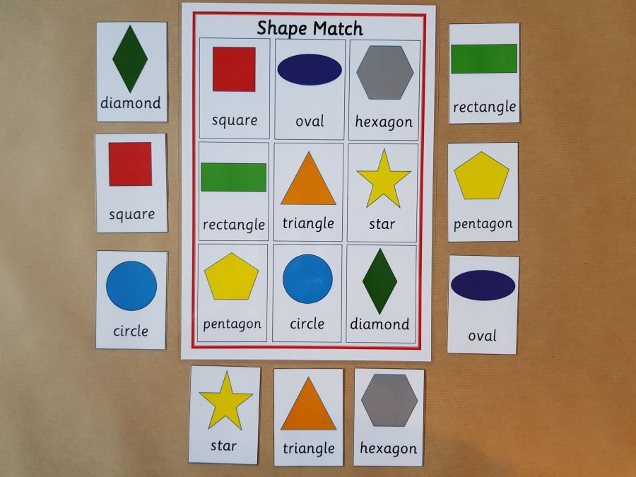 Shape Matching Game