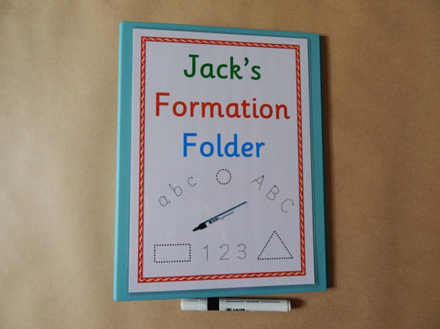 Personalised Formation Folder