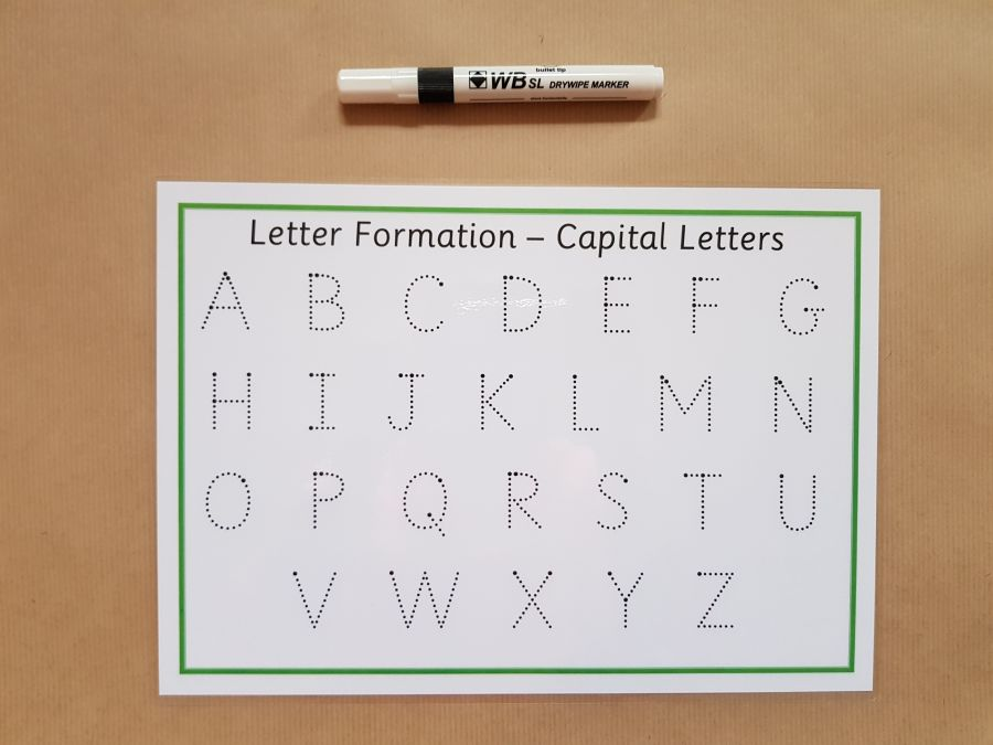 Tracing Capital Letters
