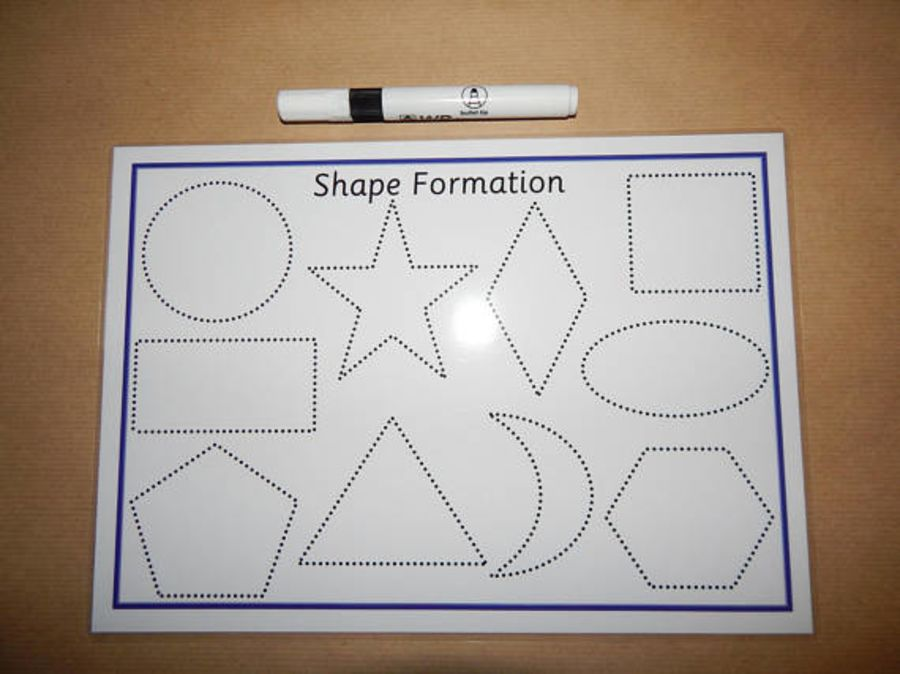 Tracing Shapes Formation Mat