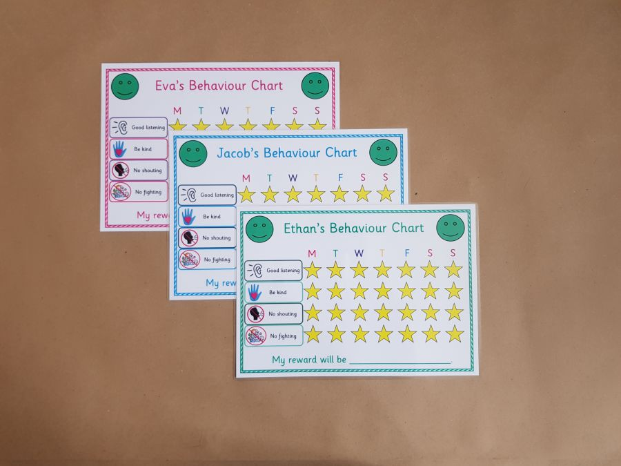 Behaviour Reward Chart