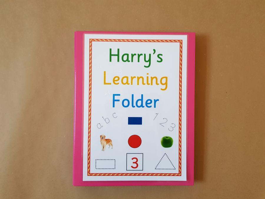 Pre School, Early Learning Folder