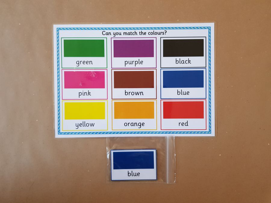 NEW Colour Matching Game