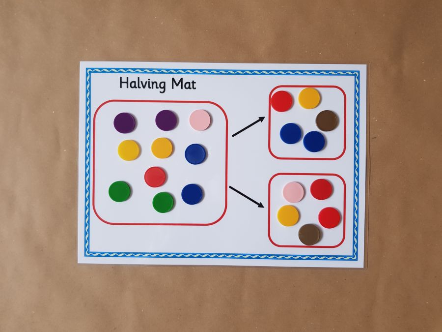 Halving Mat and Counters