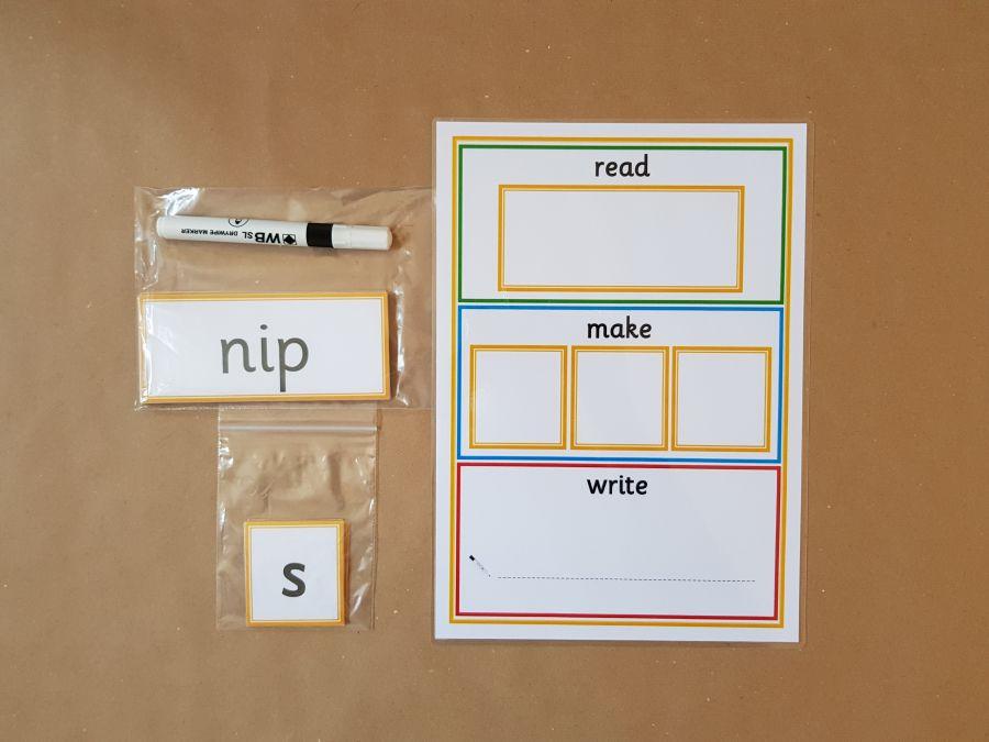SATPIN Word Building Activity,