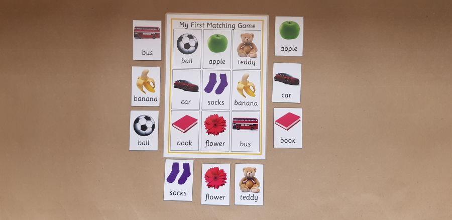 My First Matching Game