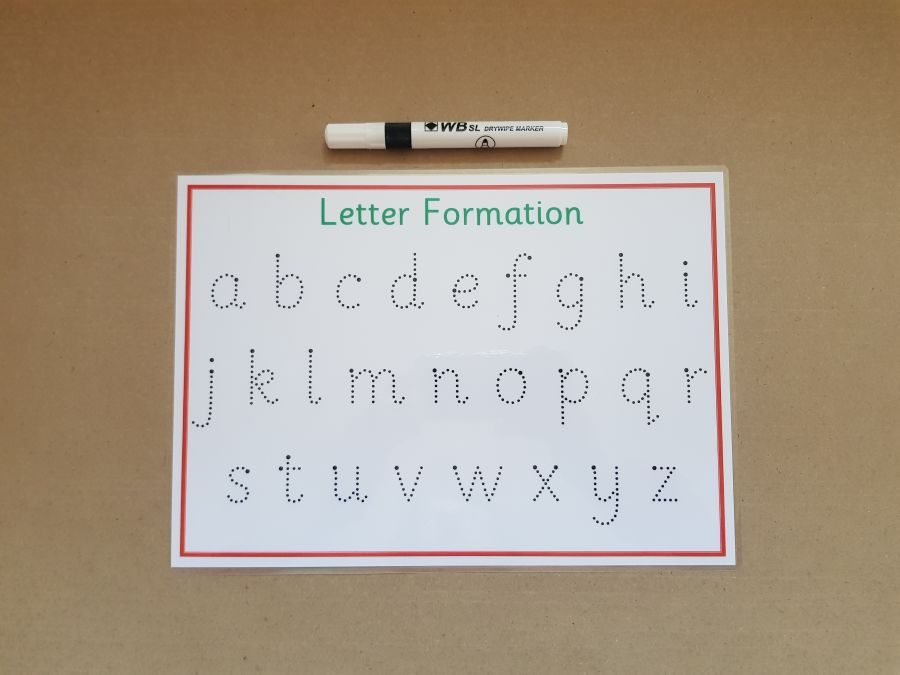 Tracing Lower Case Letters
