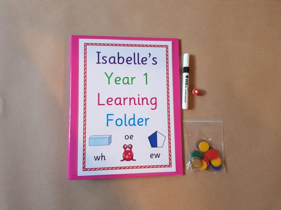 Year 1 Learning Folder