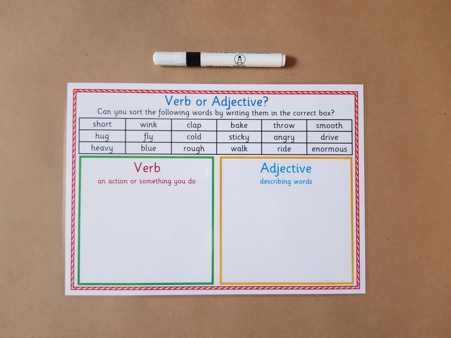 Verb or Adjective?