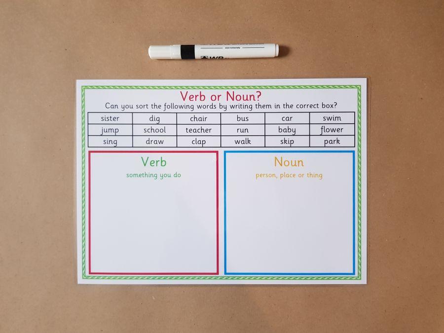 Verb or Noun?
