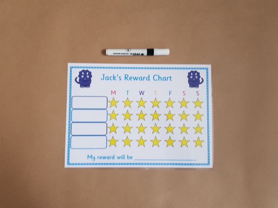Dinosaur Reward Chart