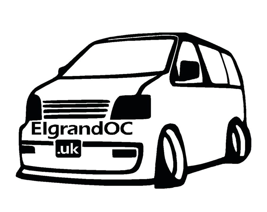 Nissan Elgrand Decal Replacements