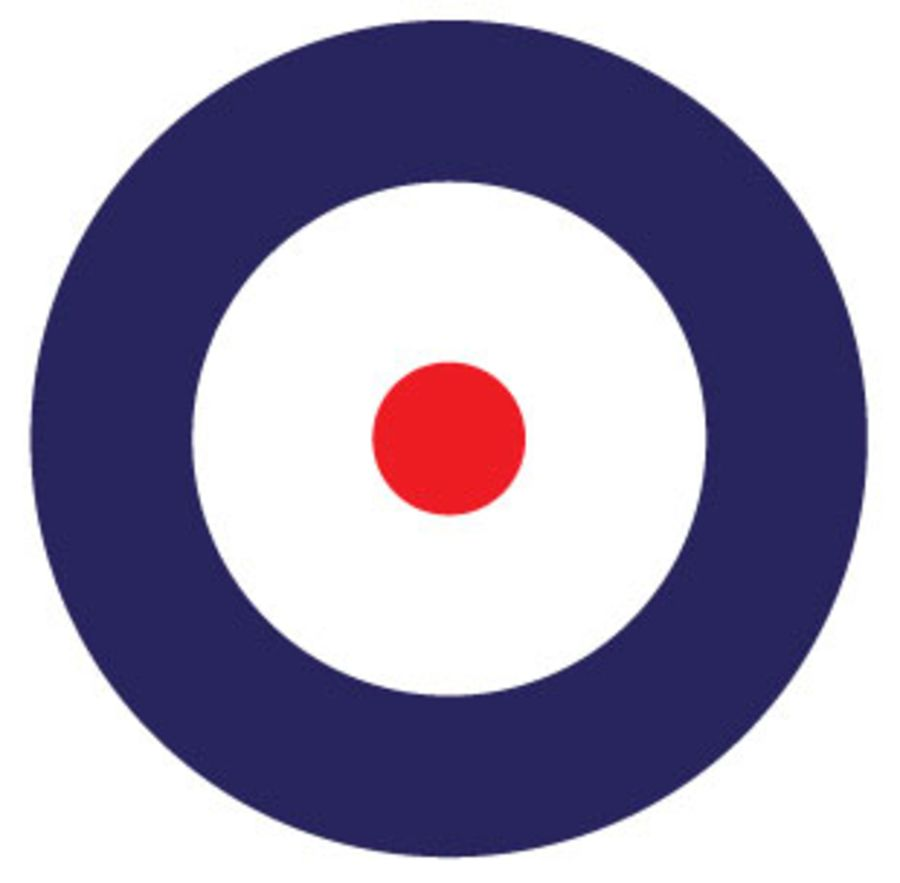 RAF - British Roundel - Type A 1915-1942