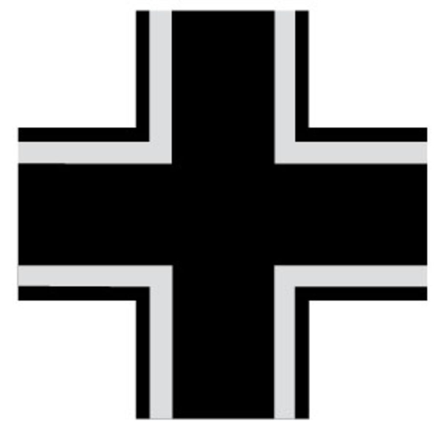 German Luftwaffe Type 2 Cross