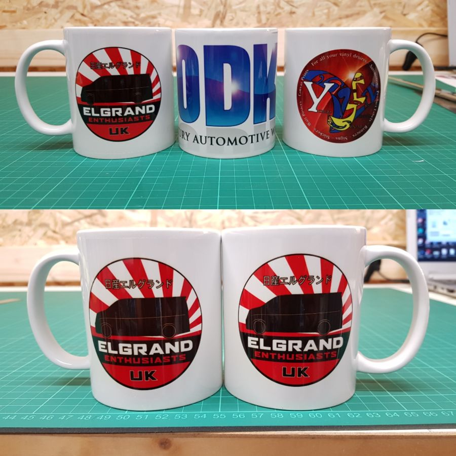 Custom Printed 11oz Mugs