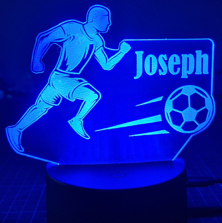 Customised Football LED Night Light