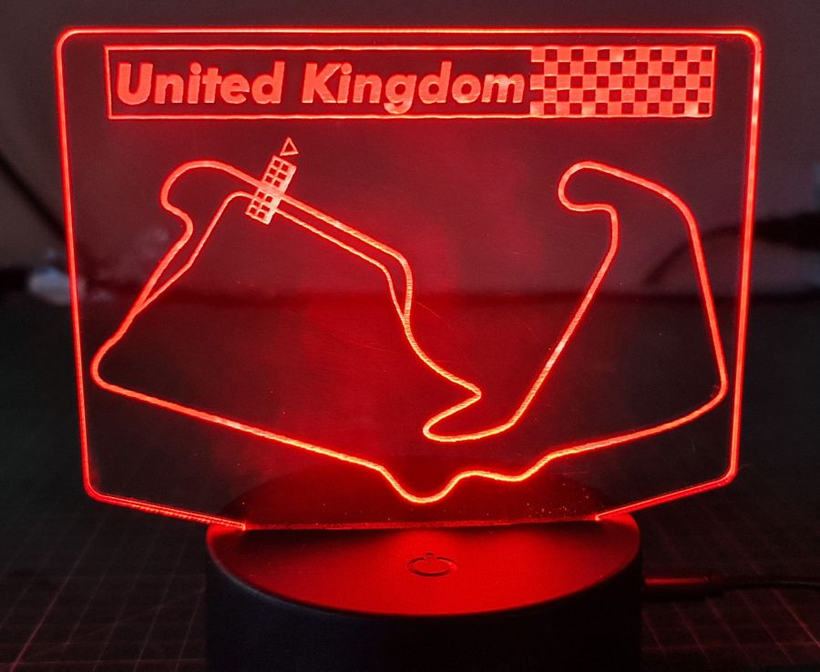 Grand Prix track LED Night Light