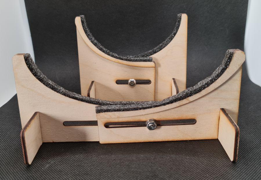 Lasercut Fuselage Stand