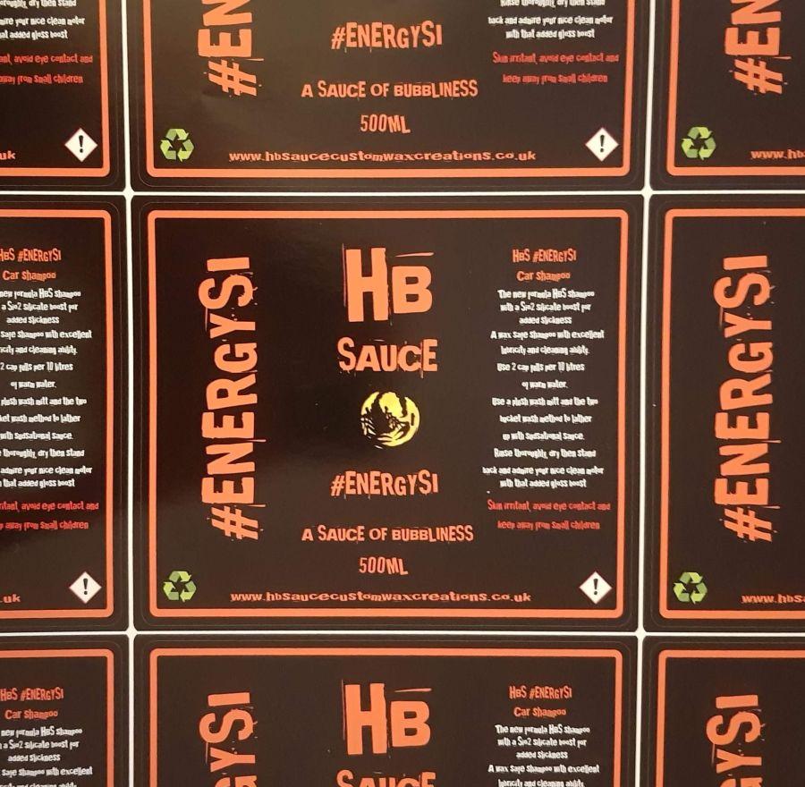 ***New Release*** HBS EnergySi Shampoo 500ml