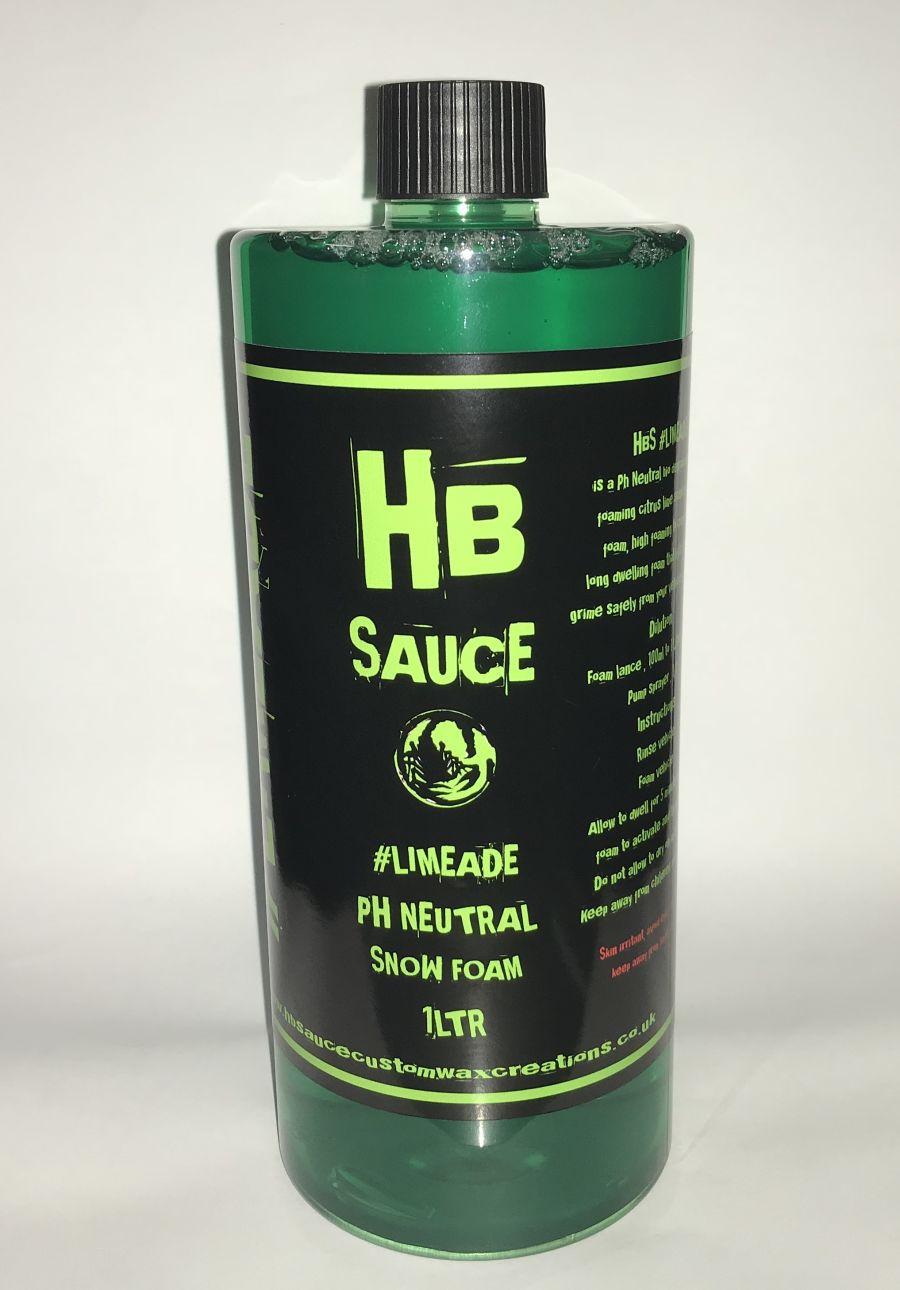 #Limeade PH Neutral Snowfoam 1 litre