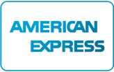 We accept Amex  via Stripe Payment Gateway