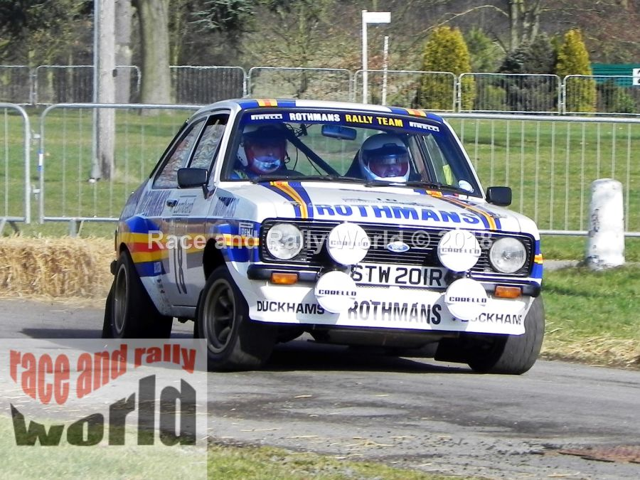 Ford Escort Mk2 RS 1800 rally car
