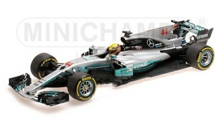 Minichamps 1:18 Mercedes AMG Petronas L. Hamilton, 2017 W08 EQ Power+