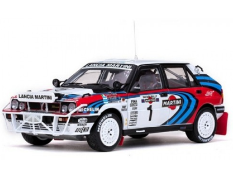 1:18 Lancia Delta Integrale Group A rally car
