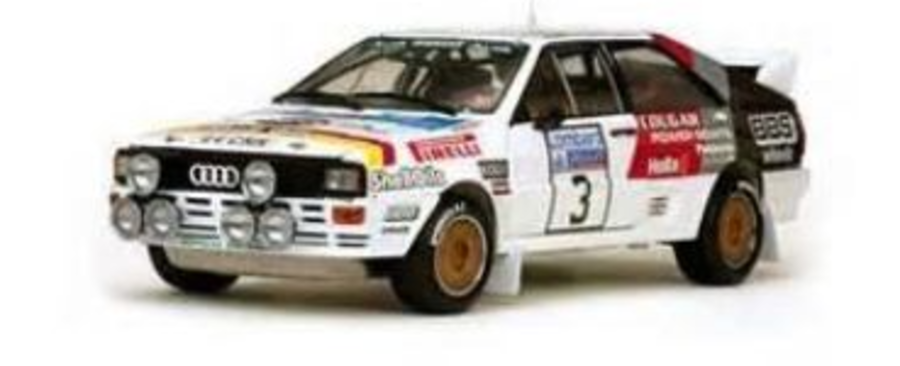 1:18  Audi Quattro A2 Group B Rally Car