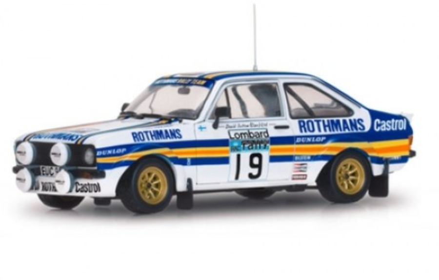 1: 18 FORD ESCORT RS 1800 MKII Rally Car