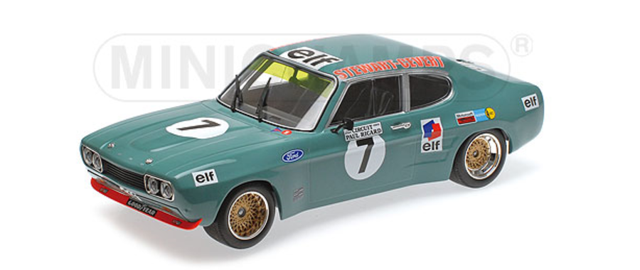 1:18 Ford Capri RS 2600 - Ford Koln - Jackie Stewart and Francois Cevert scale model