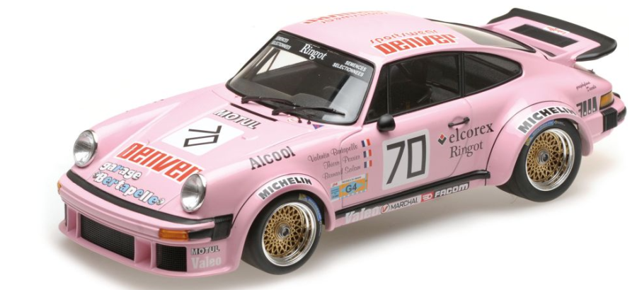 1:18 Porsche 934 Thierry Perrier Group 4 Le Mans 1981