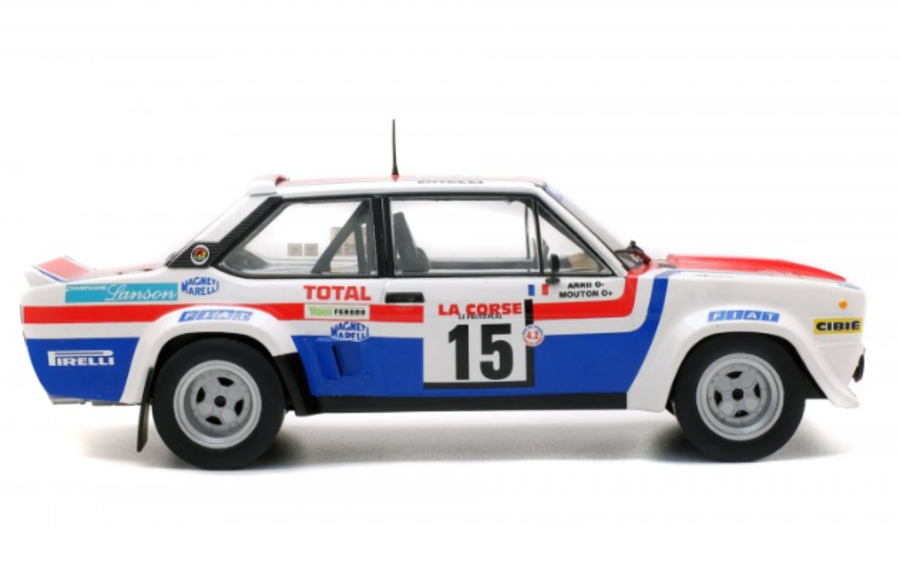 1:18 Fiat 131 Abarth Tour De Corse 79 Michele Mouton
