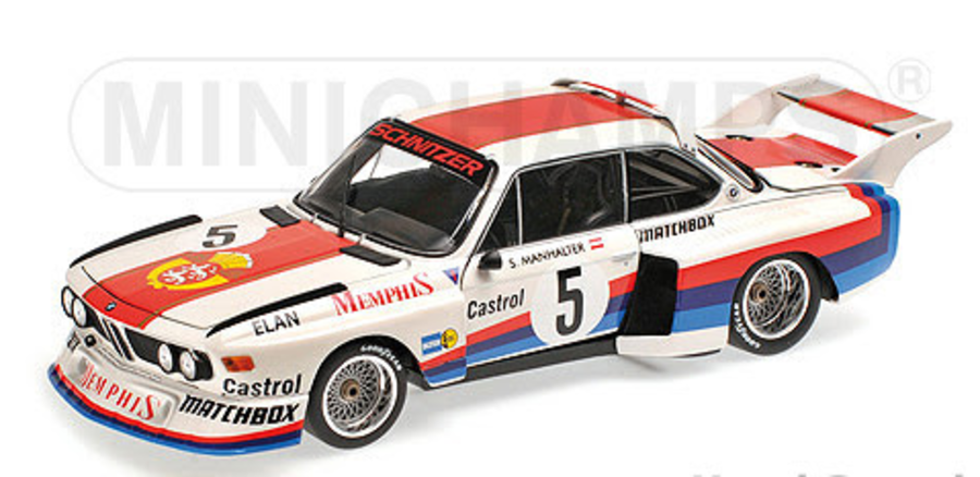1:18 BMW 3.5 CSL  SEPP MANHALTER  WINNER HAVIROV INTERNATIONAL 1977