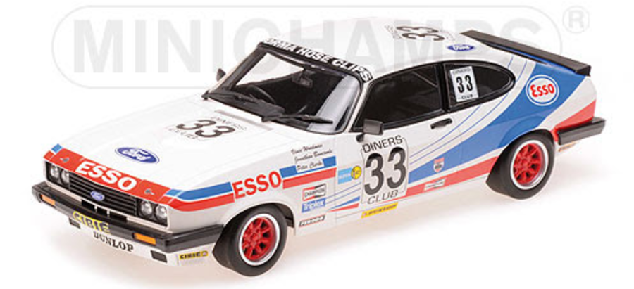 1:18 FORD CAPRI 3,0 Vince Woodman Racing 3RD PLACE SPA 24H 1981