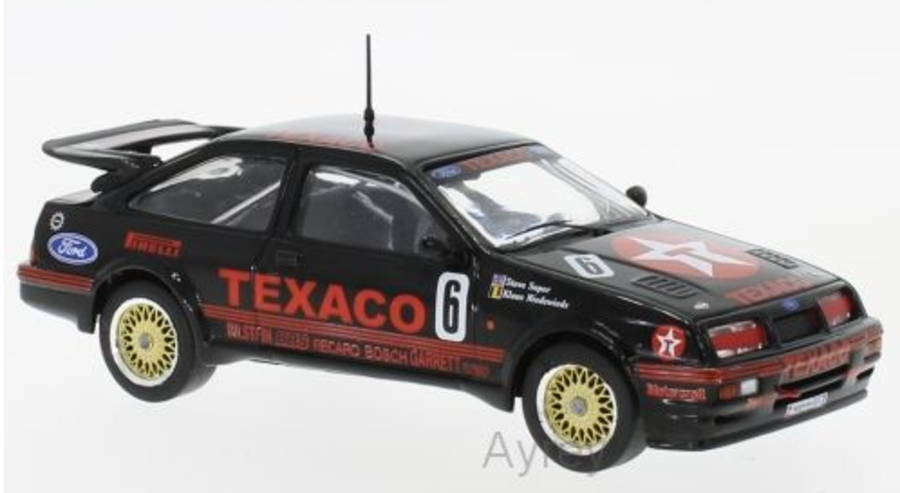 1:43 Ford Sierra Cosworth No.6, Eggenberger Motor Sport, Texaco, WTCC 1987 Ludwig model
